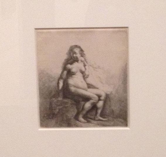 Rembrandt 1631-naken kvinna