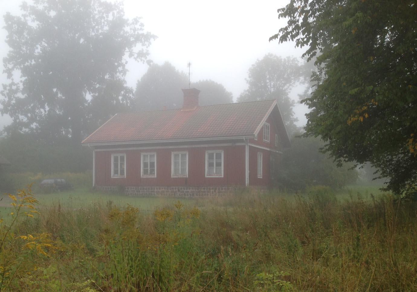verkstad i dimma